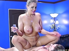 : Brazzers - Alena Croft takes a cock in her bore