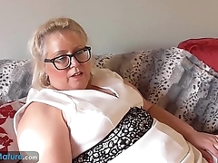 EUROPEMATURE Big beautiful woman Lexie solo