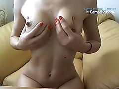Hot milf with hard nipples chatting naked on cams22.com