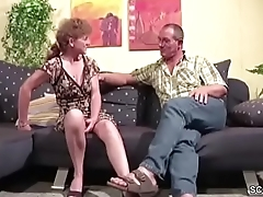 German Mom and Dad Have Fun at Hard Fuck and Facial