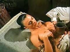 Vintage porn video with Venere Bianca fucked in all directions historic dress