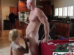 Naughty Superb Wife (sarah jessie) Cheats In Hard Sex Act mov-25