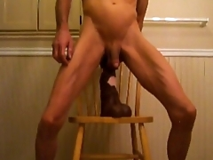 Horse Cock and Double Anal With a Stallion Penis