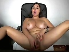 Busty Nerd Masturbate Hard on Webcam live at FAQcams.com