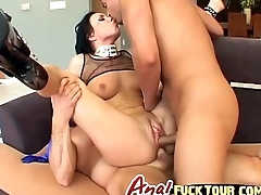 Super dispirited MILF gets a double penetrated like never before