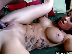 Mixt Sex Tape With regard to Monster Black Dick In Wet Mature Pussy Son (alyiah stone) vid-03