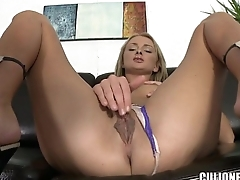 Gorgeous Blonde on the Casting Couch