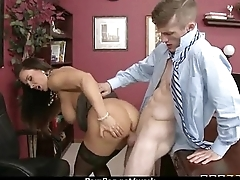 Busty Babe Fucking Her Boss In The Office 29