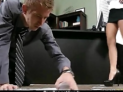 Busty Babe Fucking Her Boss In The Office 22