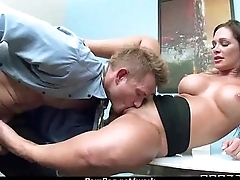 Busty Babe Fucking Her King In The Office 11
