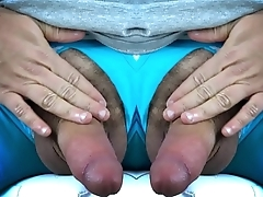 Two Cocks on One Dude