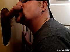Young Seconded Pauper At Gloryhole For Head