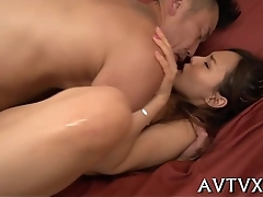 Perverted oriental pussy banging