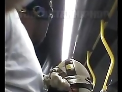 giving a nigga sum neck on public bus must c