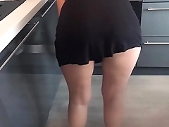 Maid Upskirt No Panties