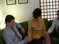Unspecifiable sexy milf in mask fucked and filmed