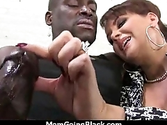 Hot ass Latina MILF cant get barely satisfactory black cock 11