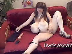 Busty Woman Plays With Their way Toys - http://livesexcams.ml