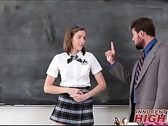 High School Skinny Teen Molly Manson Caught