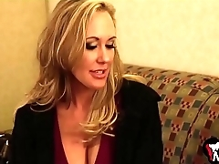 Brandi Love screams as A she gets her tight cunt nailed hard - MilfMom.com