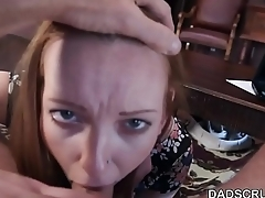 Dadscrush- Teen gets fucked by her StepDaddy for Money