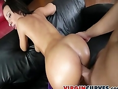 Perfect White Big-ass Bouncing