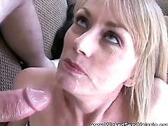 Two Cocks For Horny Mother